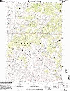 YellowMaps Eureka Basin MT topo map, 1:24000 Scale, 7.5 X 7.5 Minute, Historical, 1997, Updated 2002, 26.8 x 22 in