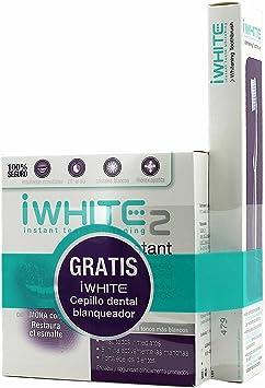 Iwhite Pack Blanqueamiento Dental + Pasta Dental Blanqueadora + Colutorio Blanqueador: Amazon.es: Salud y cuidado personal