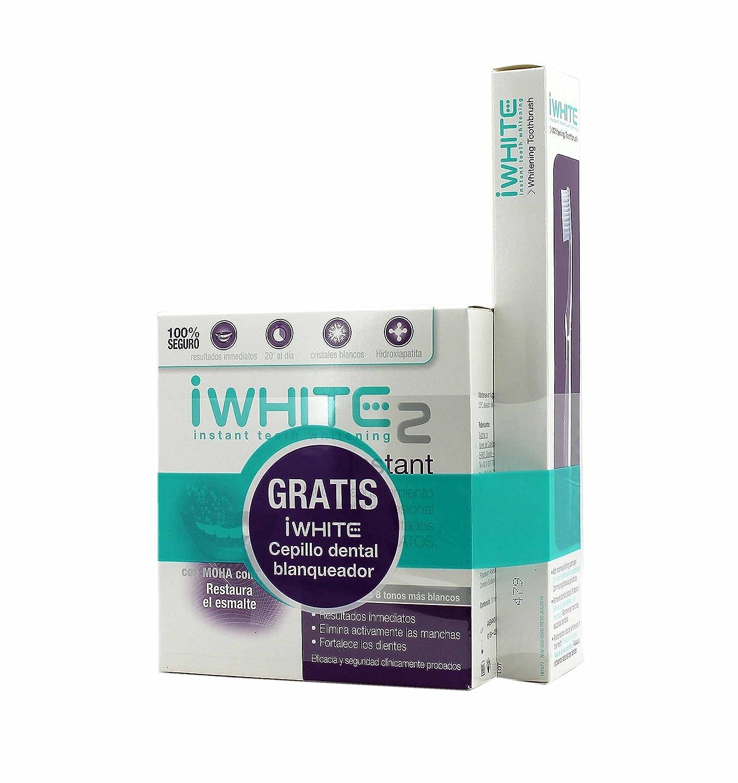 Iwhite, 10 moldes y cepillo de dientes.: Amazon.es: Salud y cuidado personal