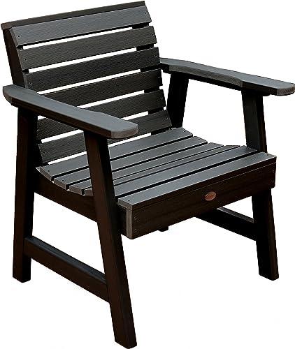 Highwood Weatherly Garden Chair, Black