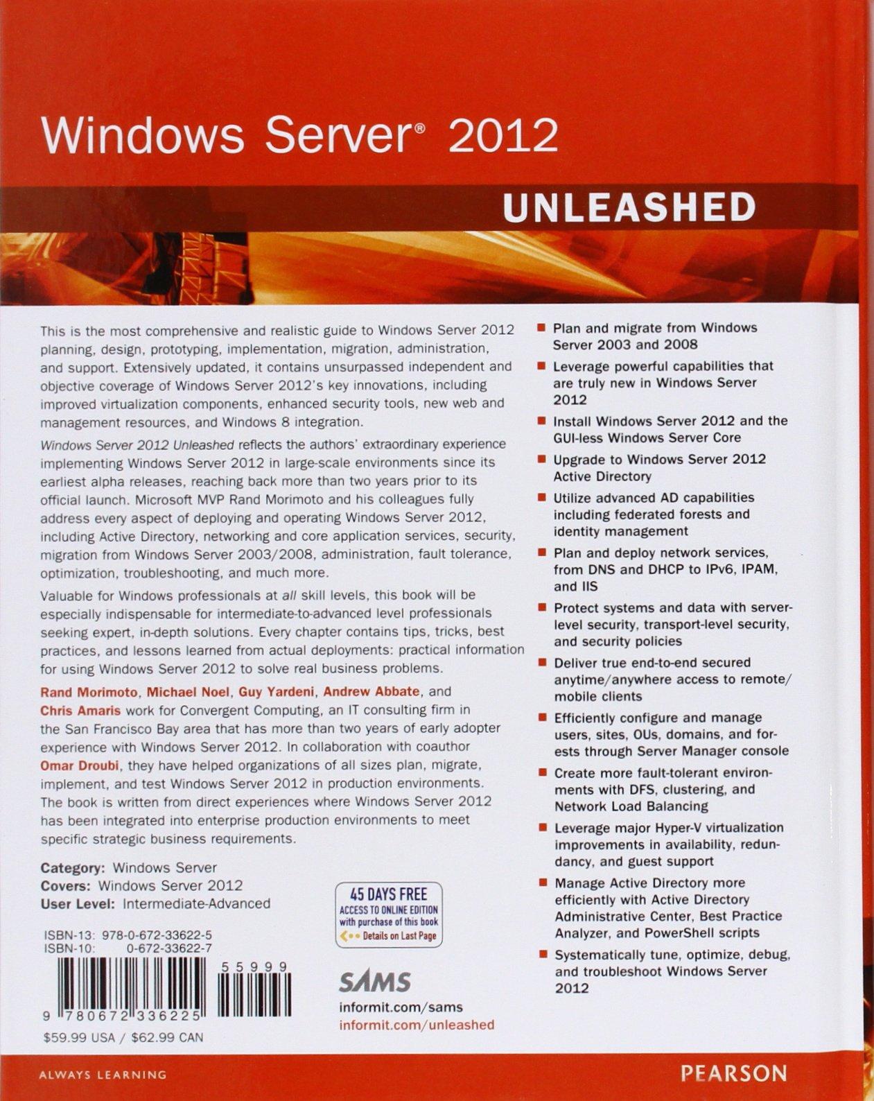 windows server 2012 unleashed ebook download