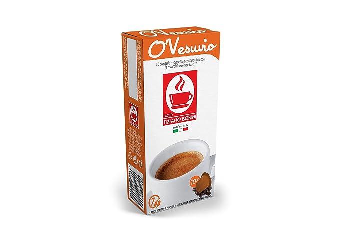 Cafetería Bonini Nespresso compatible con cápsulas Gourmet ...