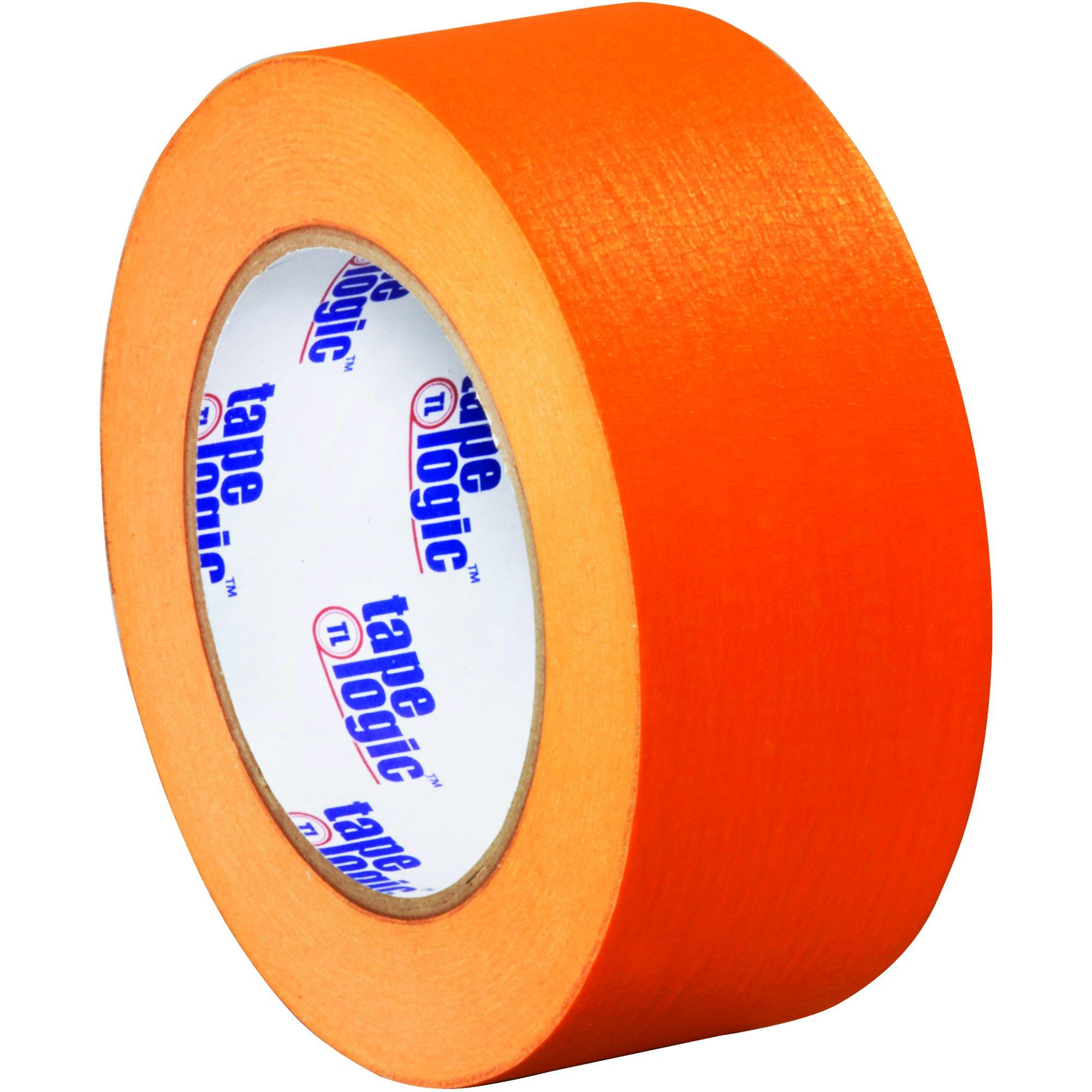 BOX USA BT93700312PKD Tape Logic Masking Tape, 2'' x 60 yd., Orange (Pack of 12) by BOX USA