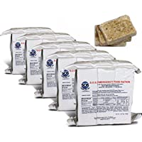 S.O.S. Rations Emergency 3600 Calorie Food Bar - 3 Day / 72 Hour Package with 5 Year Shelf Life- 5 Packs