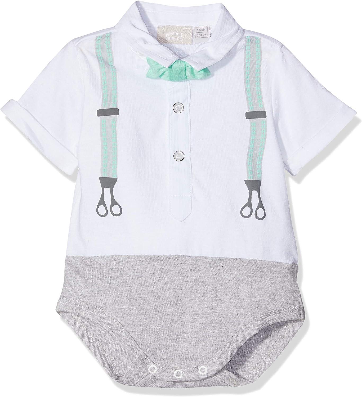 Chicco Baby-M/ädchen Esternabile Manica Corta Body