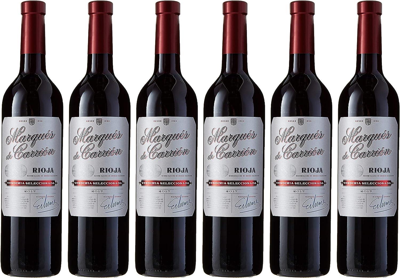 Marqués de Carrión Selección - Vino Tinto con D.O Rioja - Pack de ...