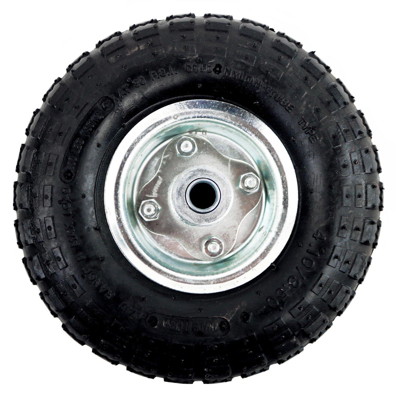 Oypla 4x 10 Pneumatic Sack Truck Trolley Wheel Barrow Replacement Tyre
