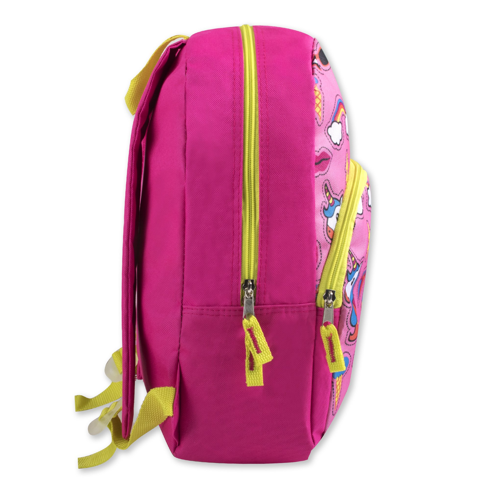 Trail maker Character Backpack (15'') with Fun Fashionable Design for Boys & Girls (Unicorn Adventure) by Trail maker (Image #3)