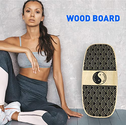 EasyGoProducts Perfect Balance Board Wooden Trainer