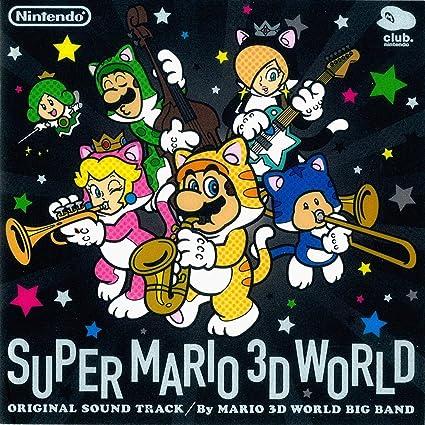 Super Mario 3D World Game Soundtrack 2-CD Set
