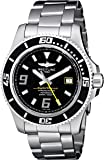 Breitling Men's A1739102/BA78 Superocean Black Dial Watch