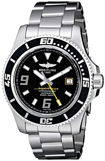 Breitling A1739102/BA78 - Reloj de pulsera hombre, acero inoxidable, color plateado