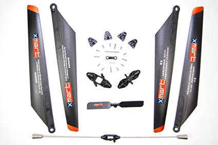 Double Horse 9053 Replacement Parts Kit, Blades, Blade Grips, Tail Rotor,  Balance bar