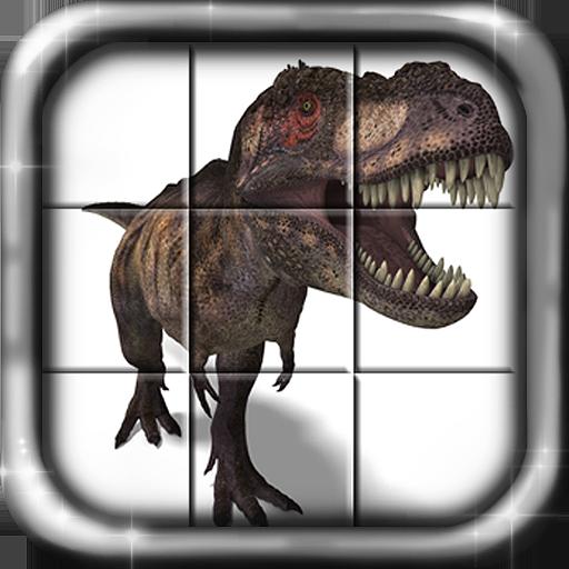 Dinosaur Sliders Puzzle FREE - Slider Rex