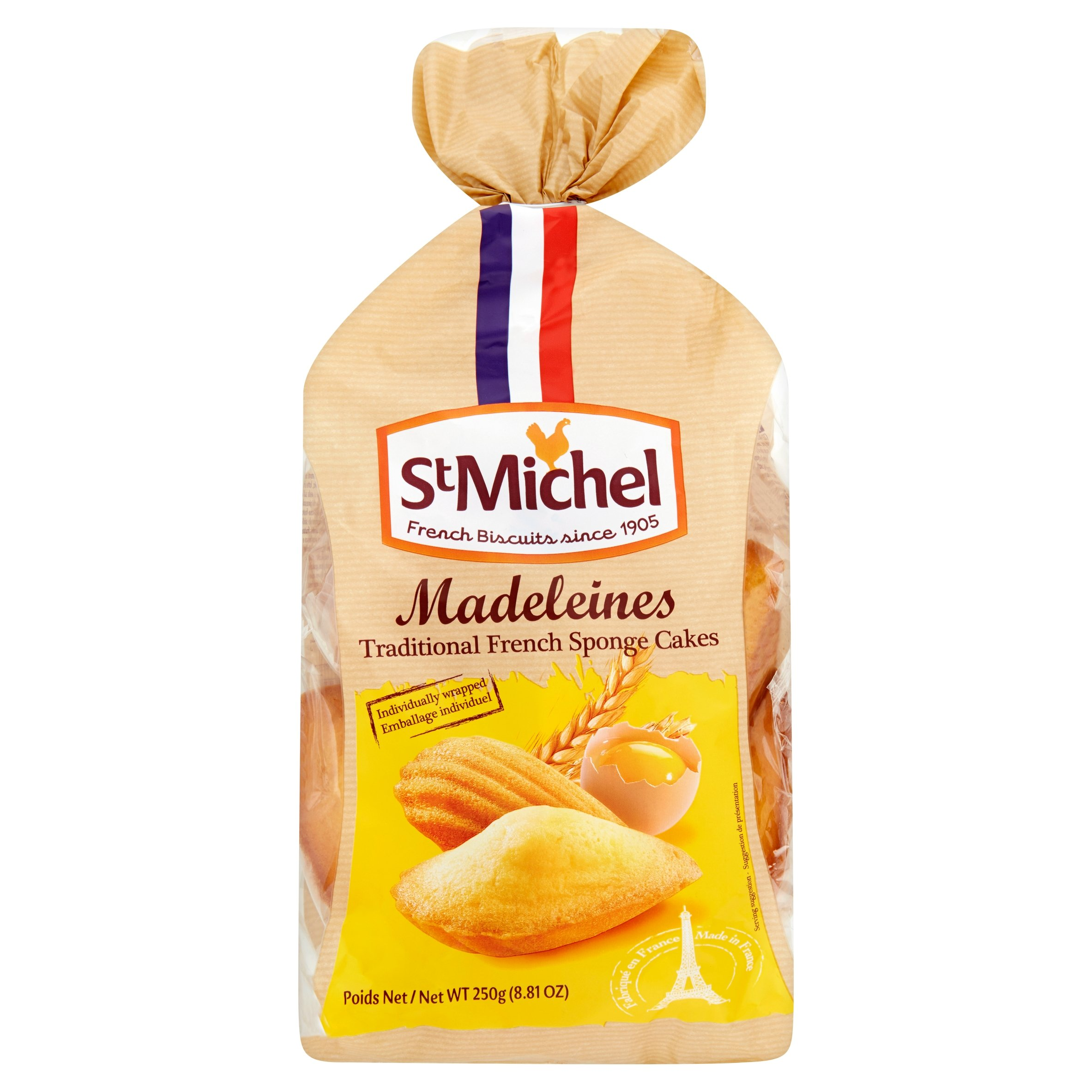 St Michel Madeleine's Traditional French Sponge Cakes, 8.8 Ounce by St Michel