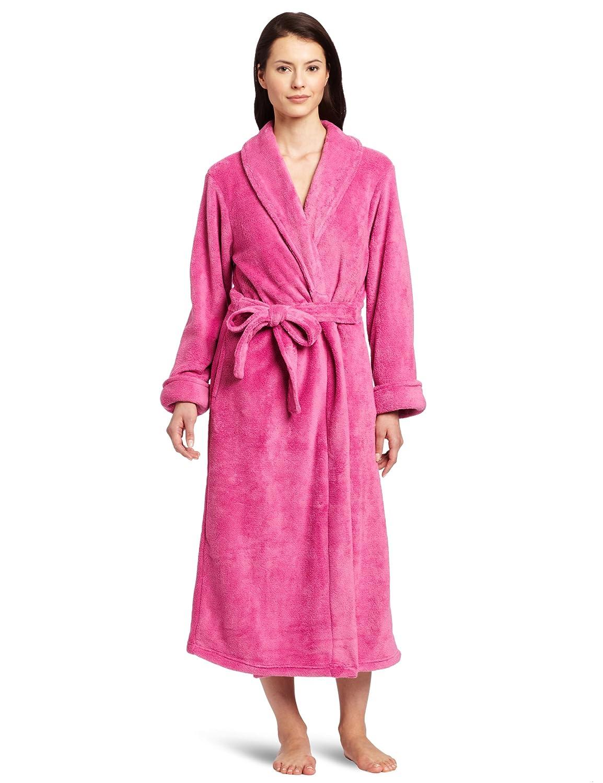 Raspberry Casual Moments Women's Wrap Robe
