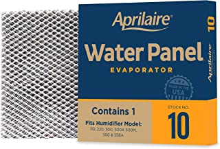 product image for Aprilaire - 10 10 10 Replacement Water Panel for Whole House Humidifier Models 110, 220, 500, 500A, 500M, 550, 558 (Pack of 10)