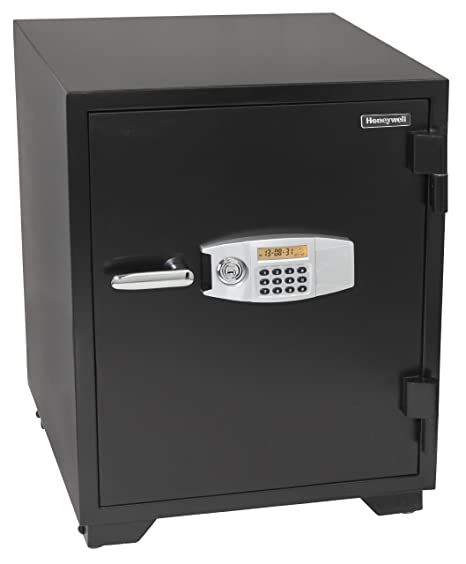 Honeywell Safes & Door Locks - 2118 Steel Fireproof Security Safe with Dual  Digital Lock and Key Protection, 3 44-Cubic Feet, Black