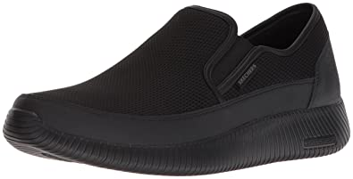 f7bba936224c6 Skechers Sport Men's Depth Charge Flish Loafer, Black/Black, 14 M US ...