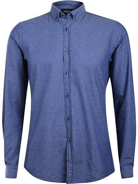 Joop! Herren Business Hemd Haye - Modern Fit - Blau, Größe:S;