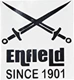 Delhi Traderss Custom Designed Crossed Swords Sticker for Royal Enfield Bullet