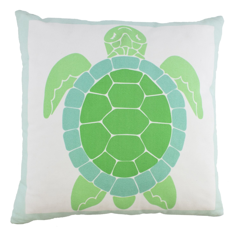 Beachcombers SS-BCS-20497 Square Turtle Pillow