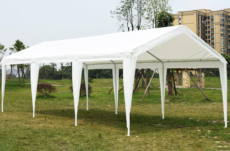 Carpa para fiestas muy resistente, para bodas, cenador para eventos al aire libre, de Quictent., color blanco, tamaño 4x6M, 125.66, 236.22 x 157.48 x 131.89inches: Amazon.es: Jardín