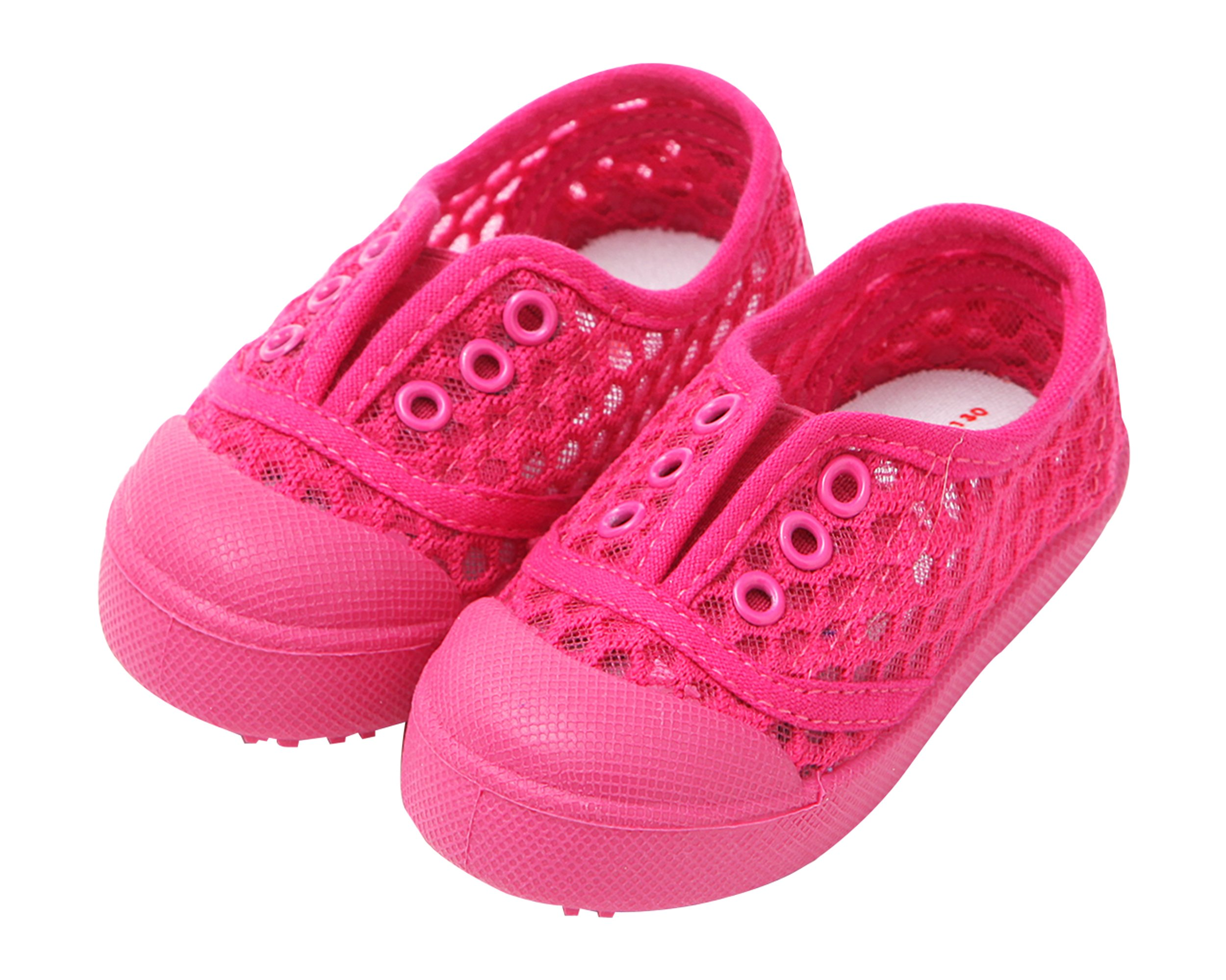 Ozkiz Baby Girls Shoes Summer Sneakers Slip-On Little Kids Toddler Pink 160