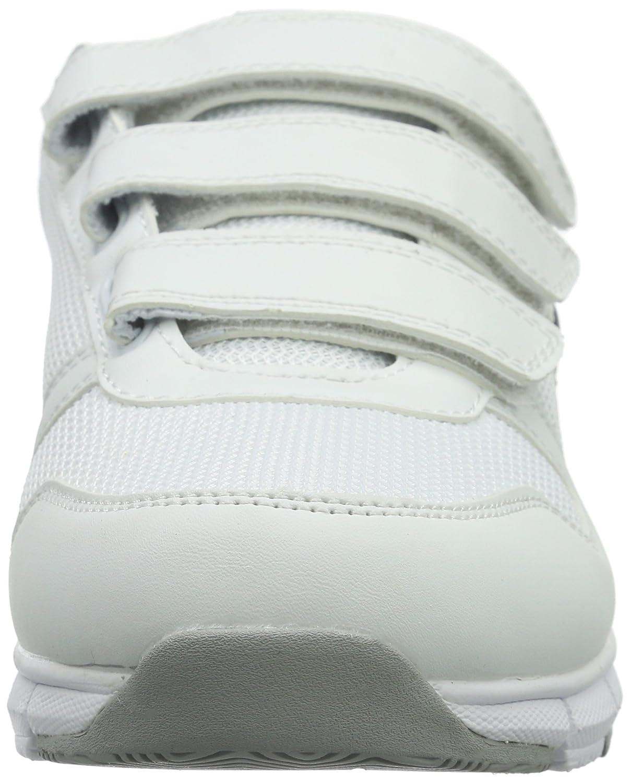 KangaROOS Unisex-Erwachsene K-Blaurun 701 B Weiß Niedrig-Top Weiß B (Weiß/Dk Navy 042) 805d36