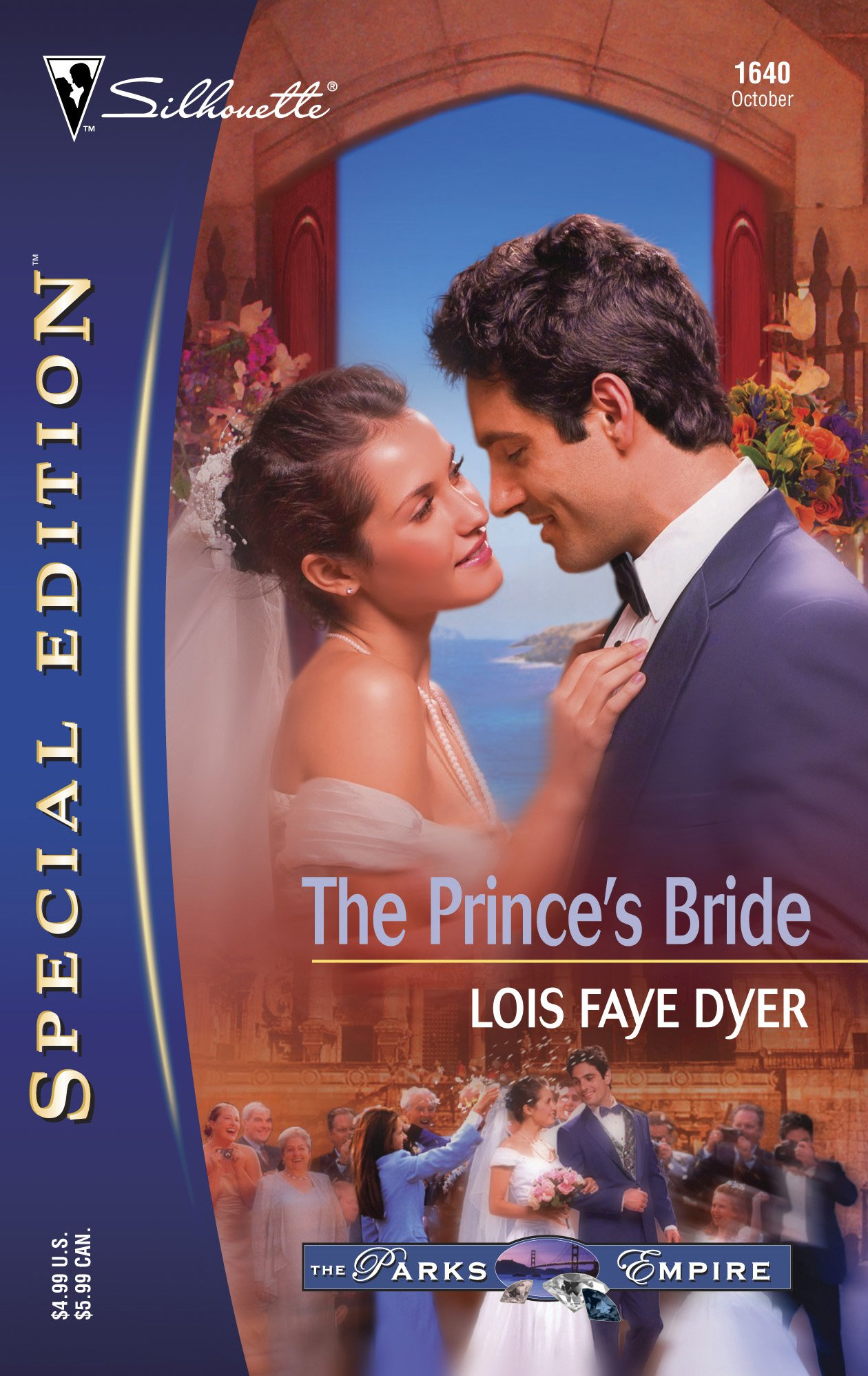 Read Online The Prince's Bride (The Parks Empire) (Silhouette Special Edition, No 1640) pdf epub