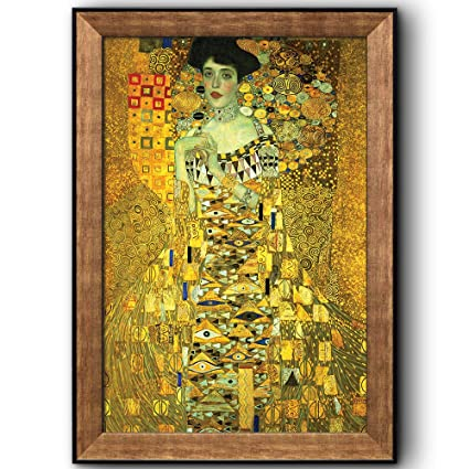 2e1563bda1fe Amazon.com  wall26 - Portrait of Adele Bloch-Bauer I (Woman in Gold ...