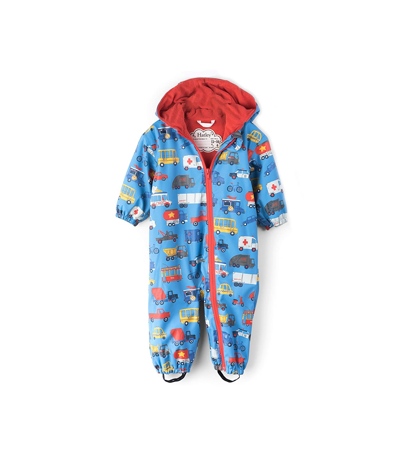 Hatley Baby Boys' Mini Rain Bundler Raincoat