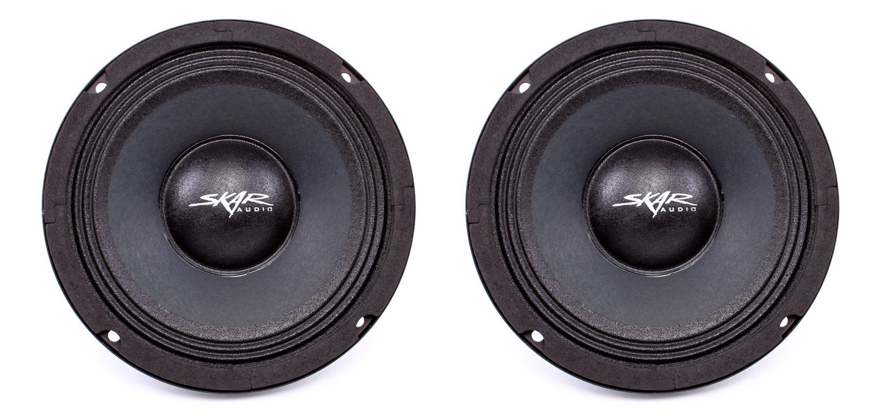 (2) Skar Audio FSX65-4 300-Watt 6.5-Inch 4 Ohm Mid-Range Loudspeakers - 2 Speakers