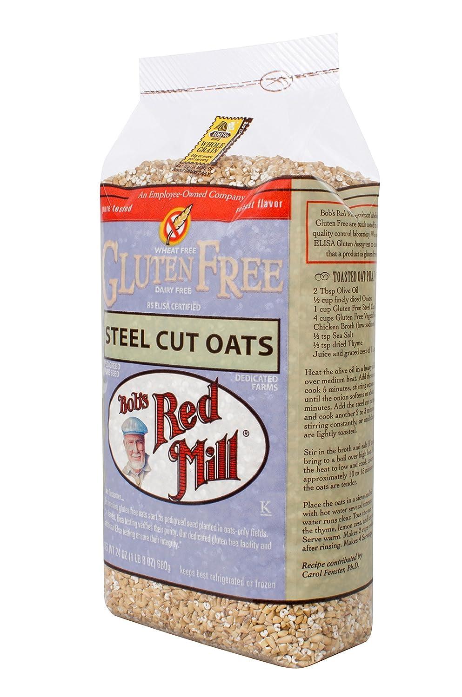 Amazon.com: Bobs Red Mill Steel Cut Oats Gluten Free -- 24 oz Each / Pack of 2: Beauty