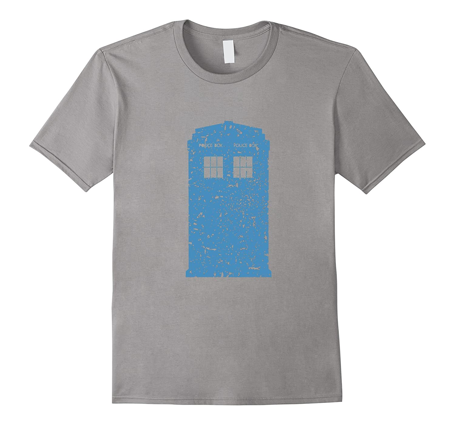 Alenne Designs: Dr. Who Vintage Tardis Call Box T-Shirt-CL