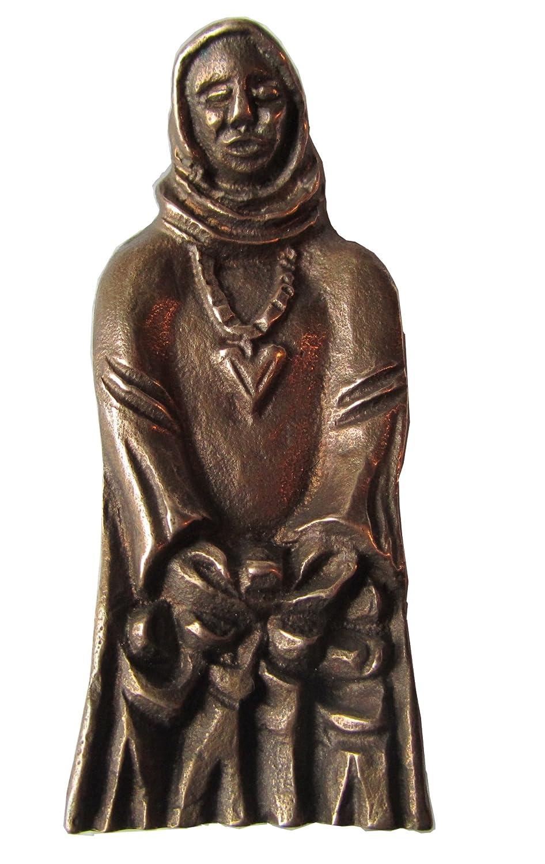 Bronze Figur Skulptur Schutzmantel Madonna