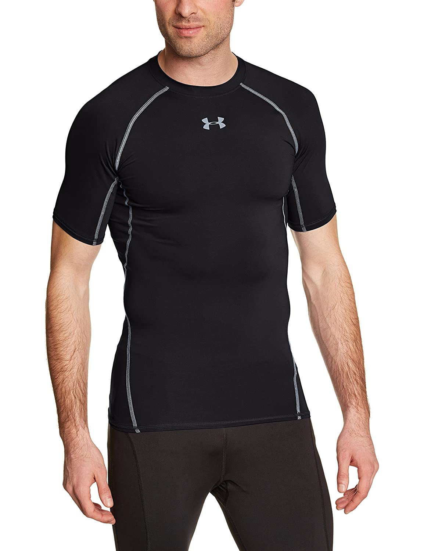 Under armour mens ua sonic heatgear short sleeve for Original under armour shirt
