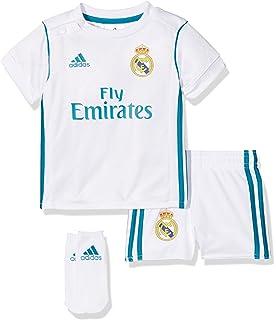 Adidas Real H Baby Camiseta, Bebé-Niños