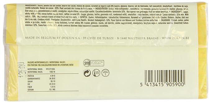 Dolfin Chocolate con Leche, Mantequilla y Caramelo - 5 Paquetes de 1 x 70 gr - Total: 350 gr: Amazon.es: Alimentación y bebidas