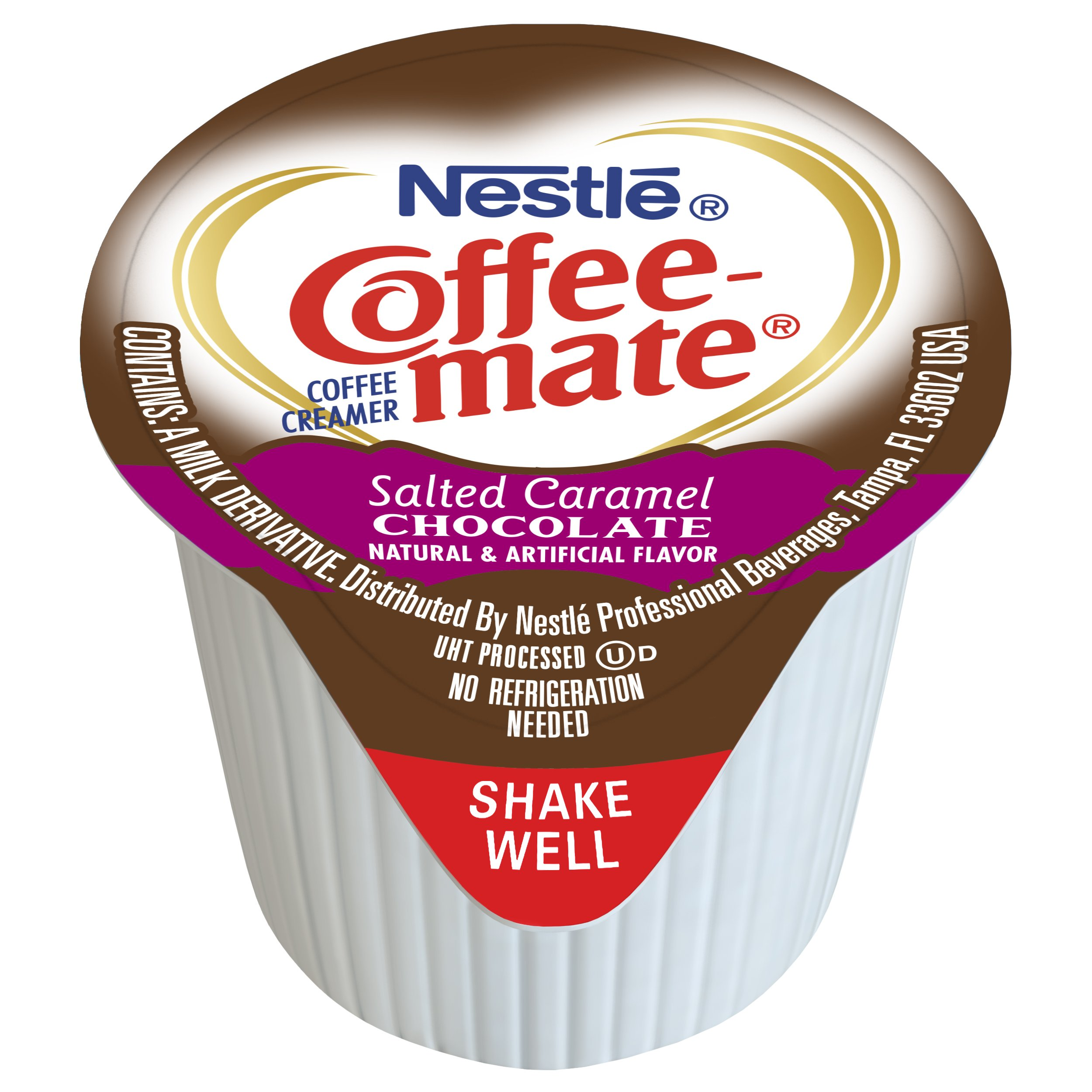 Nestle Coffee-mate Coffee Creamer, Salted Caramel Chocolate, liquid creamer singles, 180 Count (Pack of 1) by Nestle Coffee Mate (Image #2)