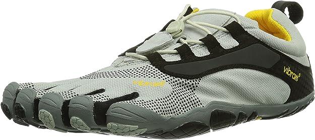 Vibram Fivefingers Running 13M3501 Bikila LS, Escarpines para Hombre, Gris/Negro, 40 EU: Amazon.es: Zapatos y complementos