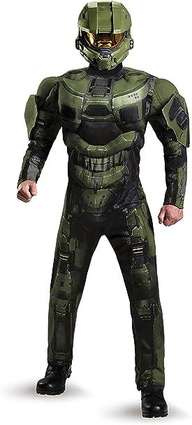 Amazon.com: Disfraz de Disguise de Jefe Maestro de Halo de ...