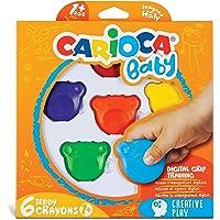 Carioca Teddy Bebek Crayons 6'Li +1 Yaş
