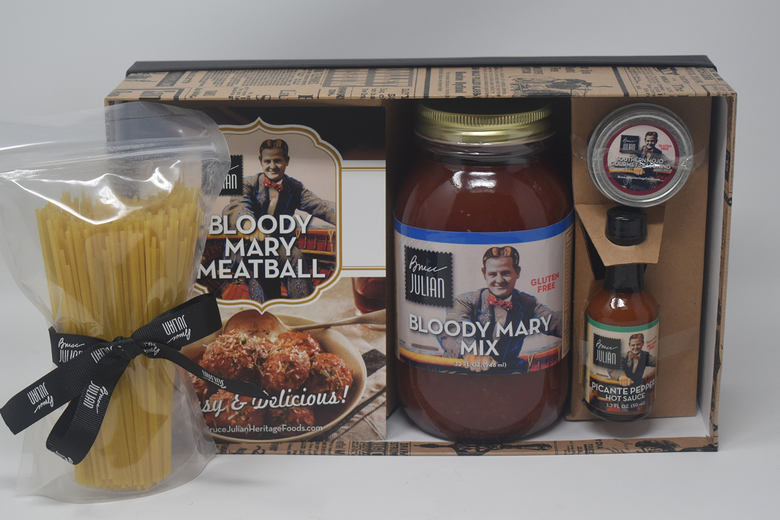 Bruce Julian Bloody Mary Meatballs and Spaghetti Meal Kit by Bruce Julian Heritage Foods