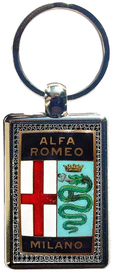 Portachiavi in eco pelle Alfa Romeo vintage 5/° versione