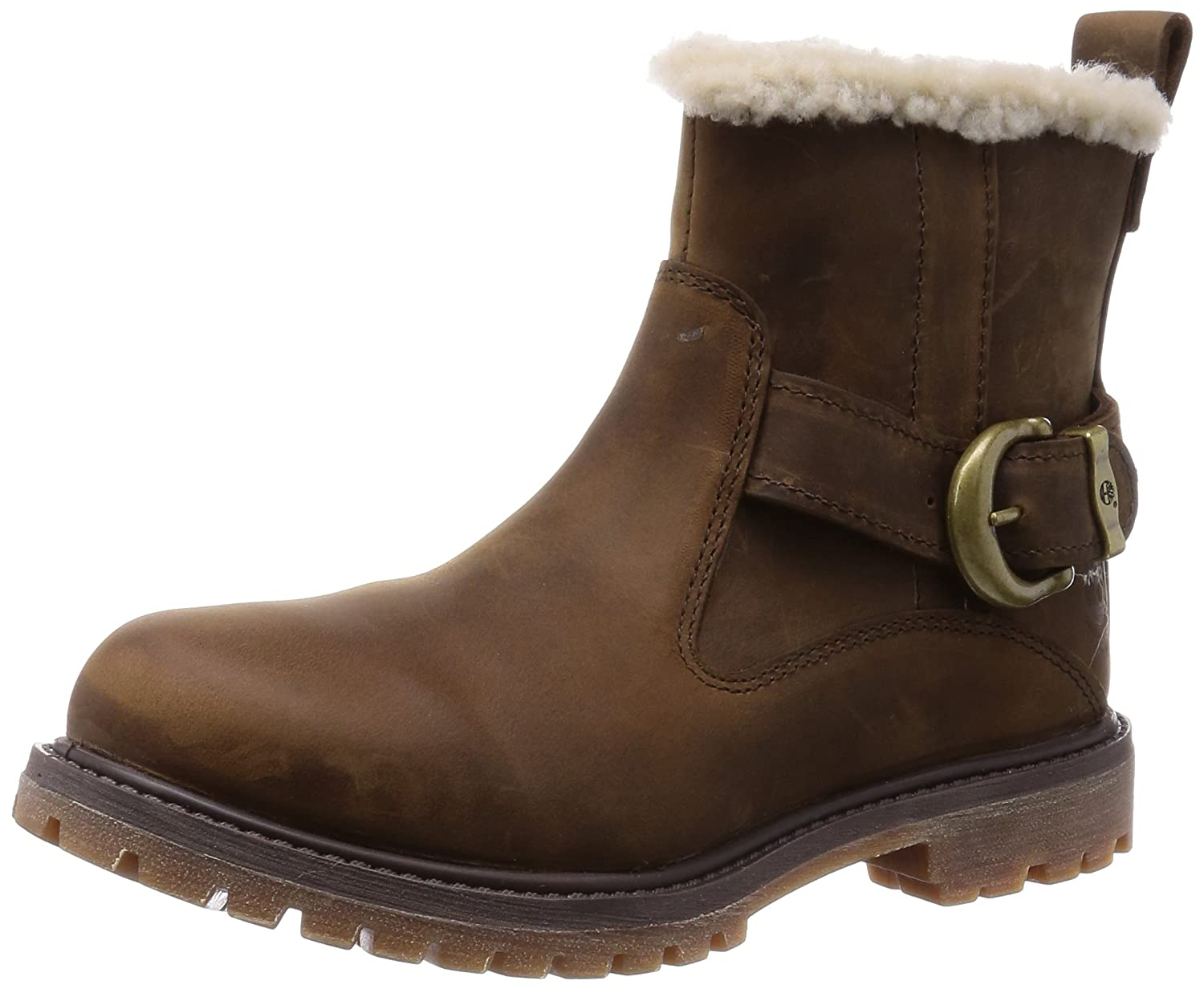 1 in New Timberland Nellie Pull On Boots Size 7 Uk Brown