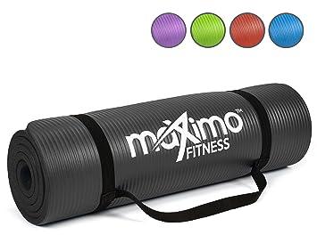 Maximo Fitness Colchoneta de Ejercicios - 183cm de Longitud x 60cm de Ancho x 1,2cm de Grosor.