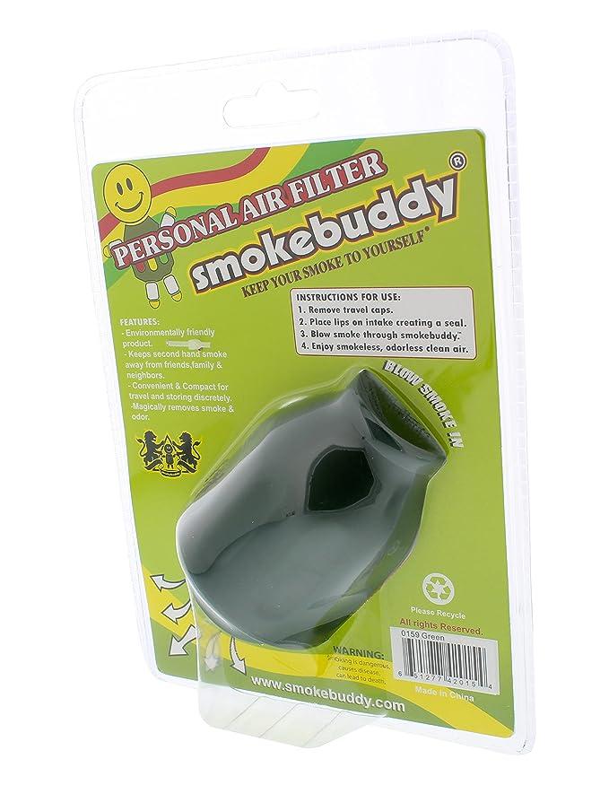 Smoke Buddy - Personal Air Filter - Green: Amazon ca: Home