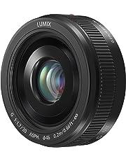 PANASONIC LUMIX G II Lens, 20mm, F1.7 ASPH., Mirrorless Micro Four Thirds, H-H020AK (USA BLACK)