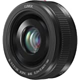 PANASONIC LUMIX G II LENS, 20MM, F1.7 ASPH, MIRRORLESS MICRO FOUR THIRDS, H-H020AK (USA BLACK)